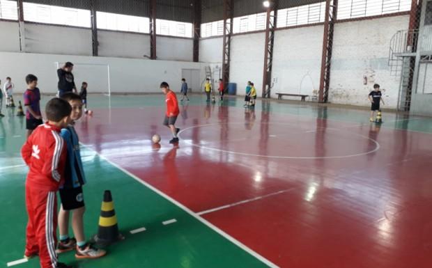 Foto de capa da notícia: Projeto Atletas do Futuro da Secretaria de Esporte e Lazer  já chega a 400 inscritos