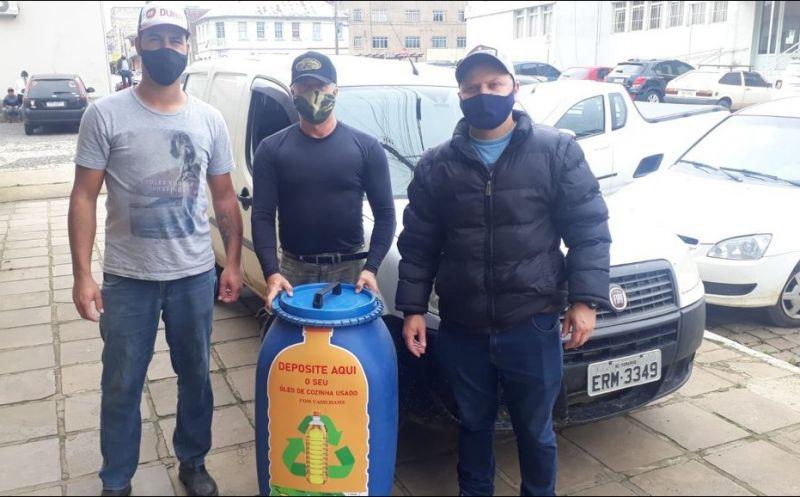 Foto de capa da notícia Empresas aderiram ao projeto de coleta de óleo de cozinha usado realizado pela Secretaria de Meio Ambiente