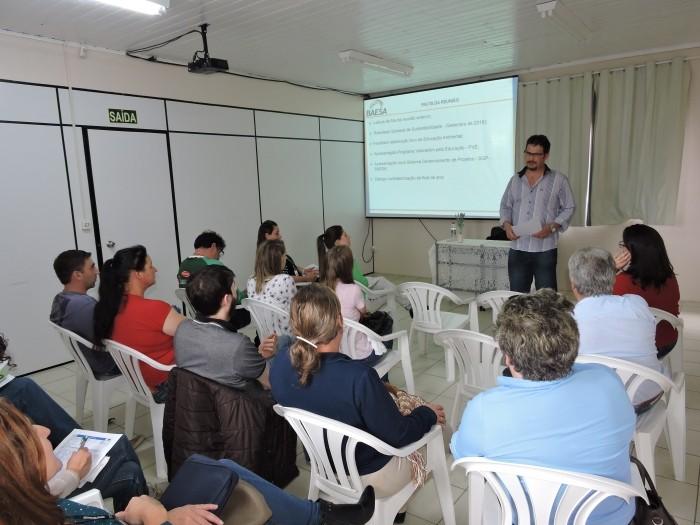 Foto de capa da notícia Bom Jesus representado na reunião do CCC da Baesa
