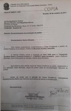 Foto de capa da notícia: Município recebe recursos por transferência voluntária e emendas parlamentares