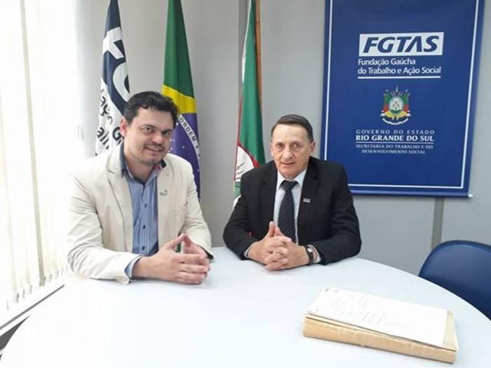 Foto de capa da notícia Renovado convênio com FGTAS/SINE