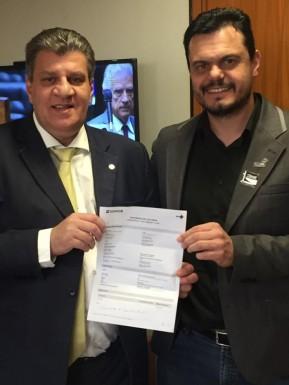 Foto de capa da notícia: Município receberá mais de R$ 200 mil de emenda indicada pelo Deputado Federal José Otávio Germano