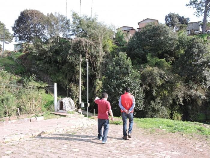 Foto de capa da notícia Prefeito planeja passarela para o Alto da Pedra