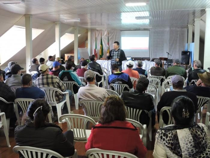 Foto de capa da notícia Secretaria de Obras lidera campanha do Maio Amarelo em Bom Jesus