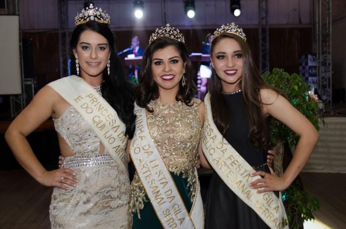 Foto de capa da notícia As soberanas da Festa da Gila e do Queijo Artesanal Serrano