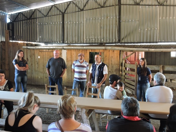 Foto de capa da notícia Reunião sobre Queijo Serrano