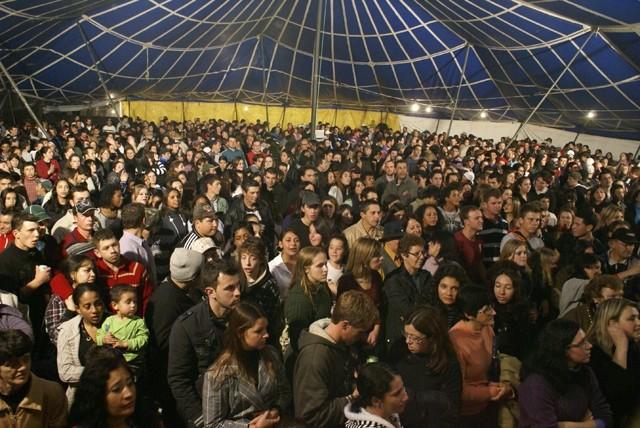 Foto de capa da notícia Expositores avaliam de forma positiva a 6ª Festa da Gila