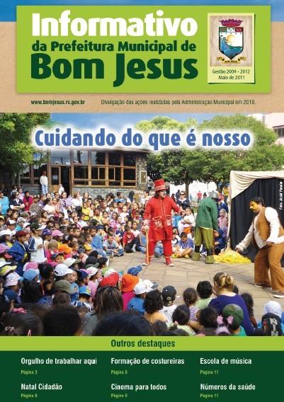 Foto de capa da notícia Revista divulga ações desenvolvidas pela Administração Municipal