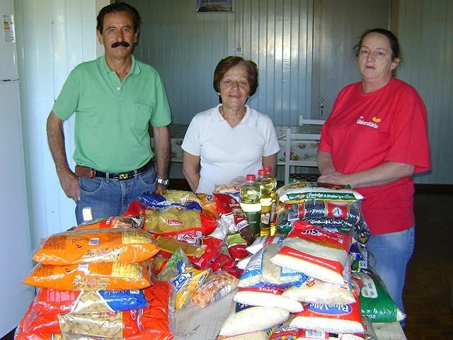 Foto de capa da notícia A Casa da Criança e do Adolescente de Bom Jesus recebeu alimentos da Igreja Assembléia de Deus