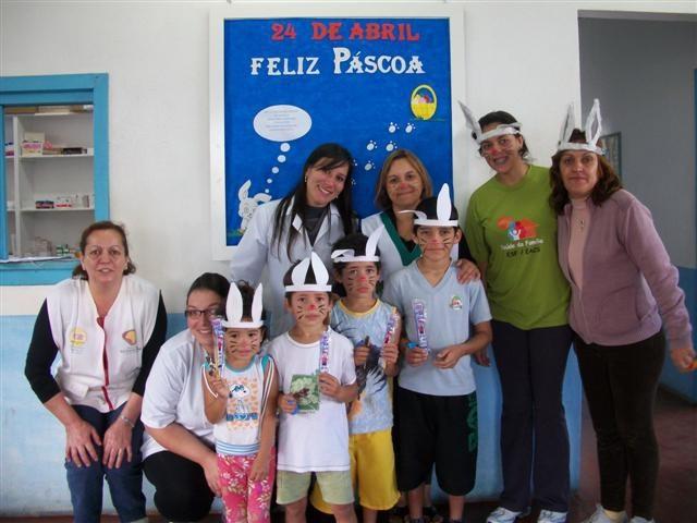 Foto de capa da notícia Em Bom Jesus, as crianças do bairro Santa Catarina tiveram uma comemoração de Páscoa diferente