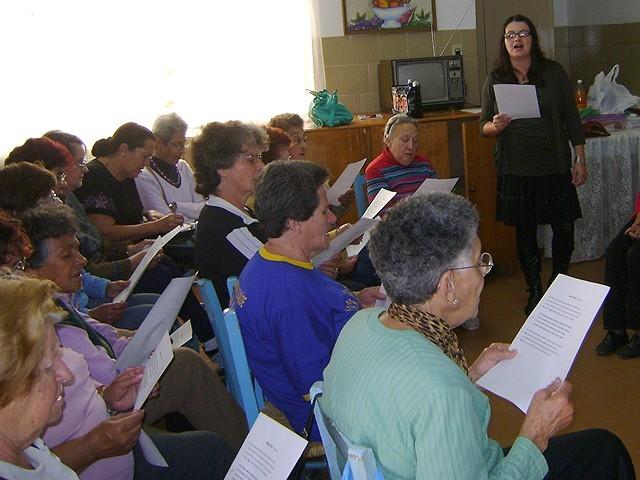 Foto de capa da notícia Coral da Melhor Idade de Bom Jesus realiza ensaios semanais