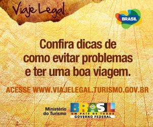 Foto de capa da notícia Guia Viaje Legal oferece dicas para turistas