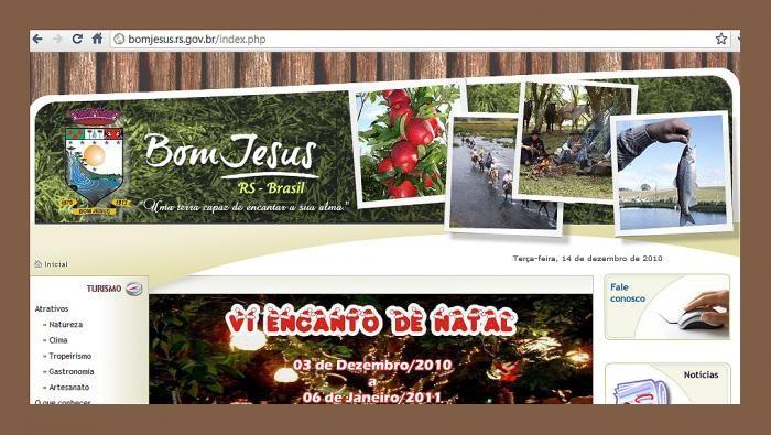 Foto de capa da notícia Prefeitura de Bom Jesus lança novo site