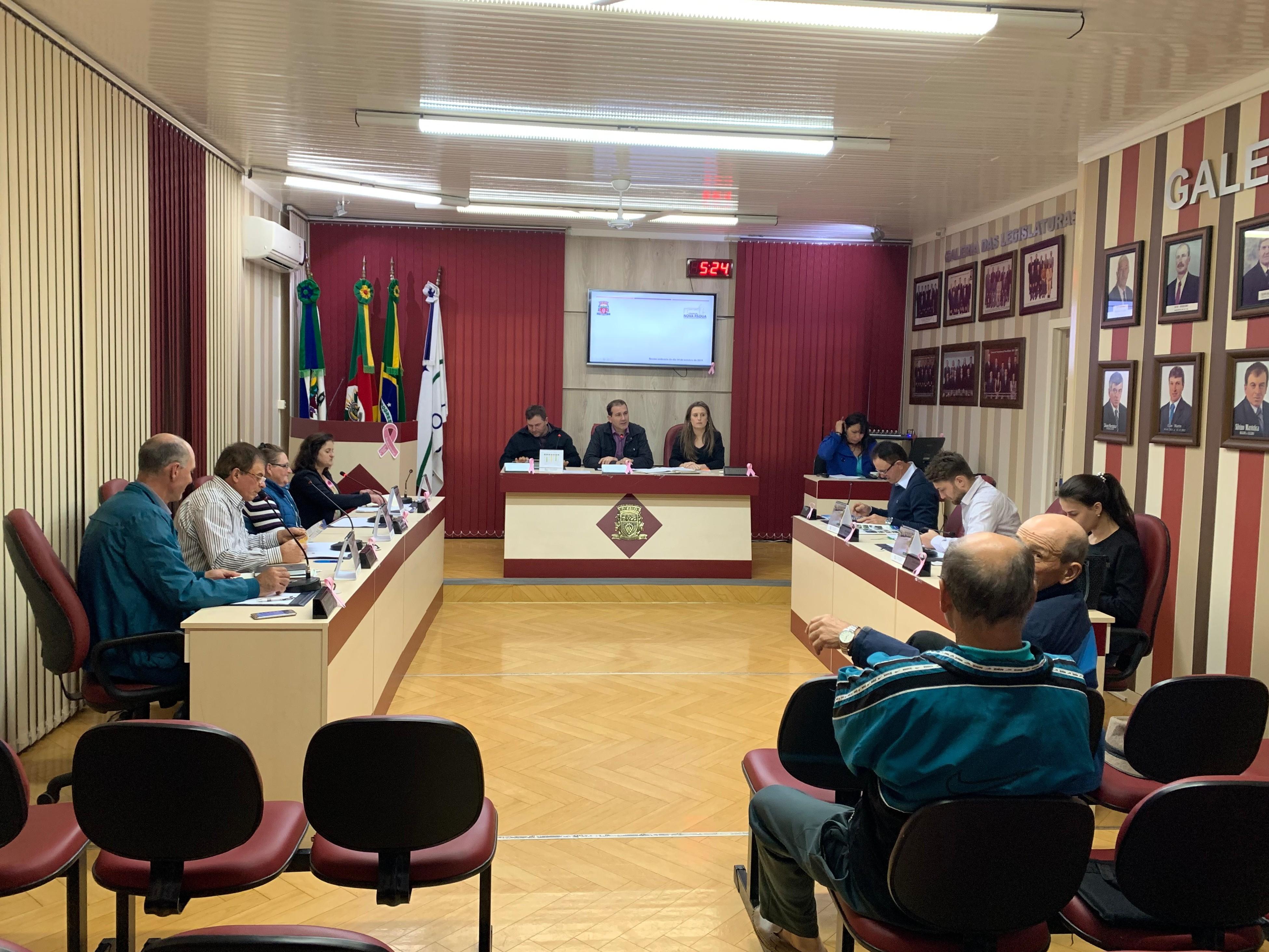 Foto de capa da notícia Legislativo Paduense realiza Sessão Ordinária