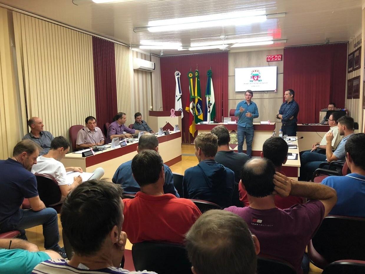 Foto de capa da notícia Vereadores Paduenses recebem o Prefeito Municipal para a apresentação da LOA 2020
