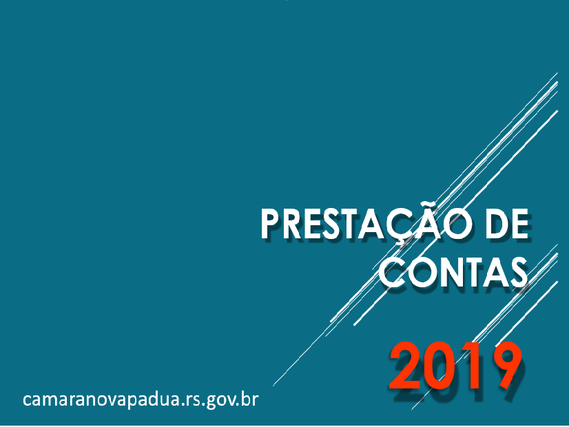 Foto de capa da notícia Presidente Legislativo realiza prestação de contas de 2019.