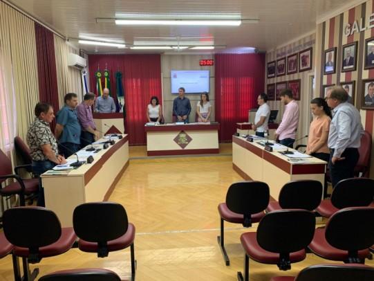 Foto de capa da notícia: Câmara de Nova Pádua realiza a primeira sessão ordinária de 2020!