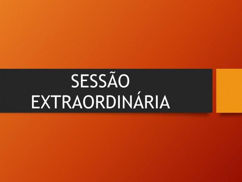 Foto de capa da notícia CONVOCAÇÃO: SESSÃO EXTRAORDINÁRIA