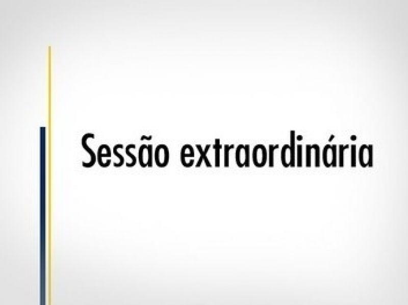 Foto de capa da notícia: CONVOCAÇÃO: Sessão Extraordinária