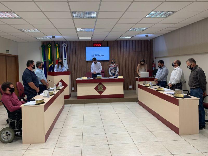 Foto de capa da notícia: Câmara realiza sessão ordinária