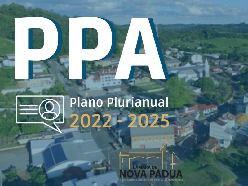 Foto de capa da notícia Câmara de Nova Pádua aprova o Plano Plurianual (PPA) para o período de 2022 a 2025.