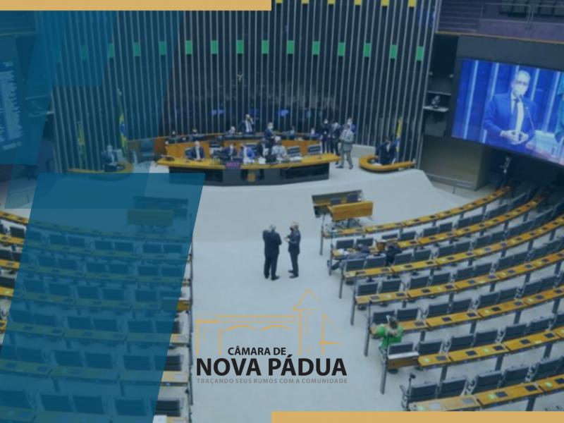 """Foto de capa da notícia Câmara de Nova Pádua aprova moção de repúdio contra a aprovação do """"Fundão Eleitoral""""."""