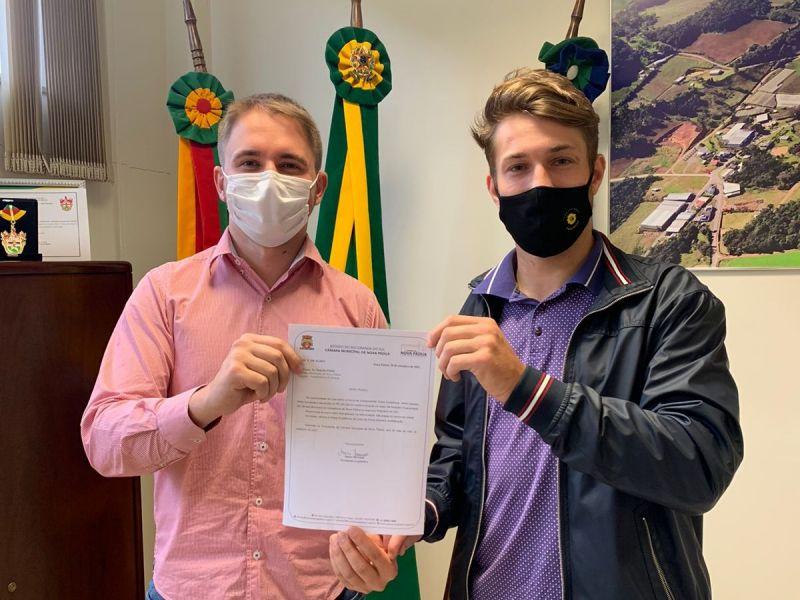 Foto de capa da notícia Câmara de Nova Pádua devolve R$190.000 mil aos cofres da prefeitura.