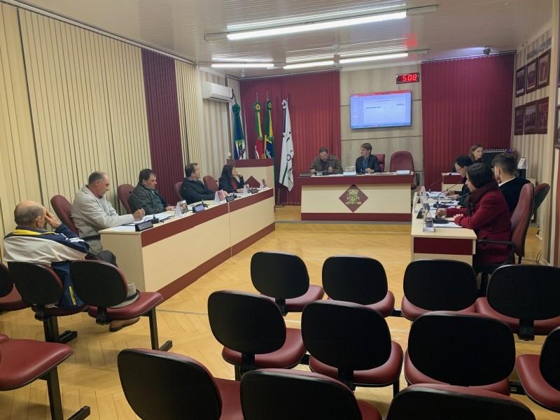 Foto de capa da notícia Câmara de Nova Pádua realiza Sessão Ordinária