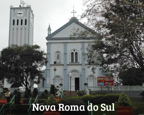 Banner 20. Nova Roma do Sul