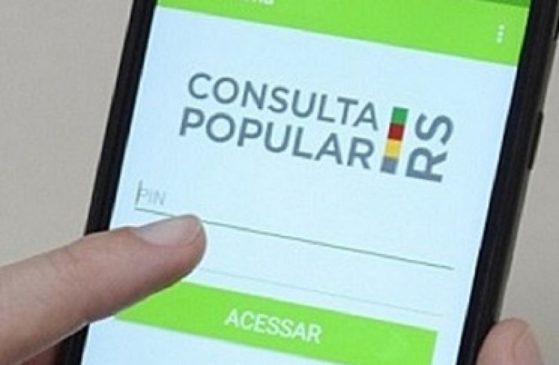 Foto Resultados  da Consulta Popular 2020