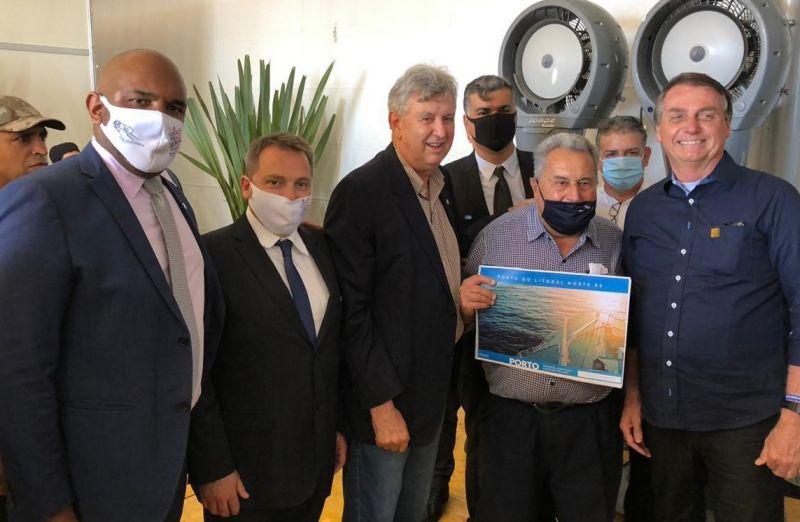 Foto de capa da notícia: Grupo Porto Litoral  Norte participa da inauguração da segunda travessia do Guaiba