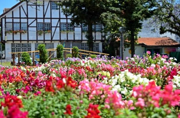 Foto Praça das Flores