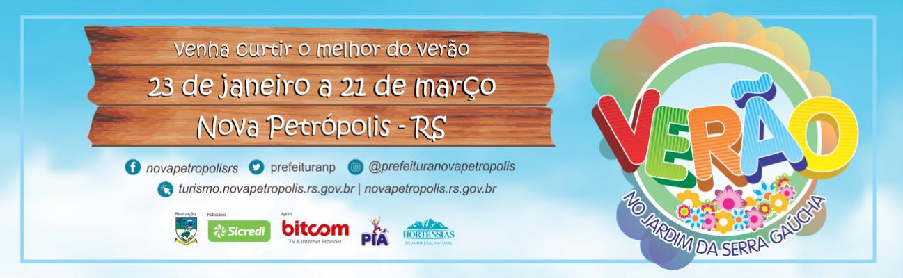 Banner divulgação Verão no Jardim da Serra Gaúcha