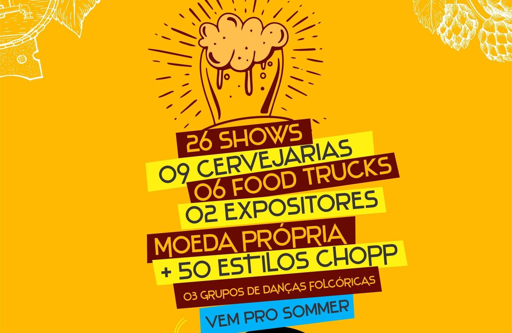 Foto Sommer Bier Festival ocorre de 21 de fevereiro a 1º de março em  Nova Petrópolis