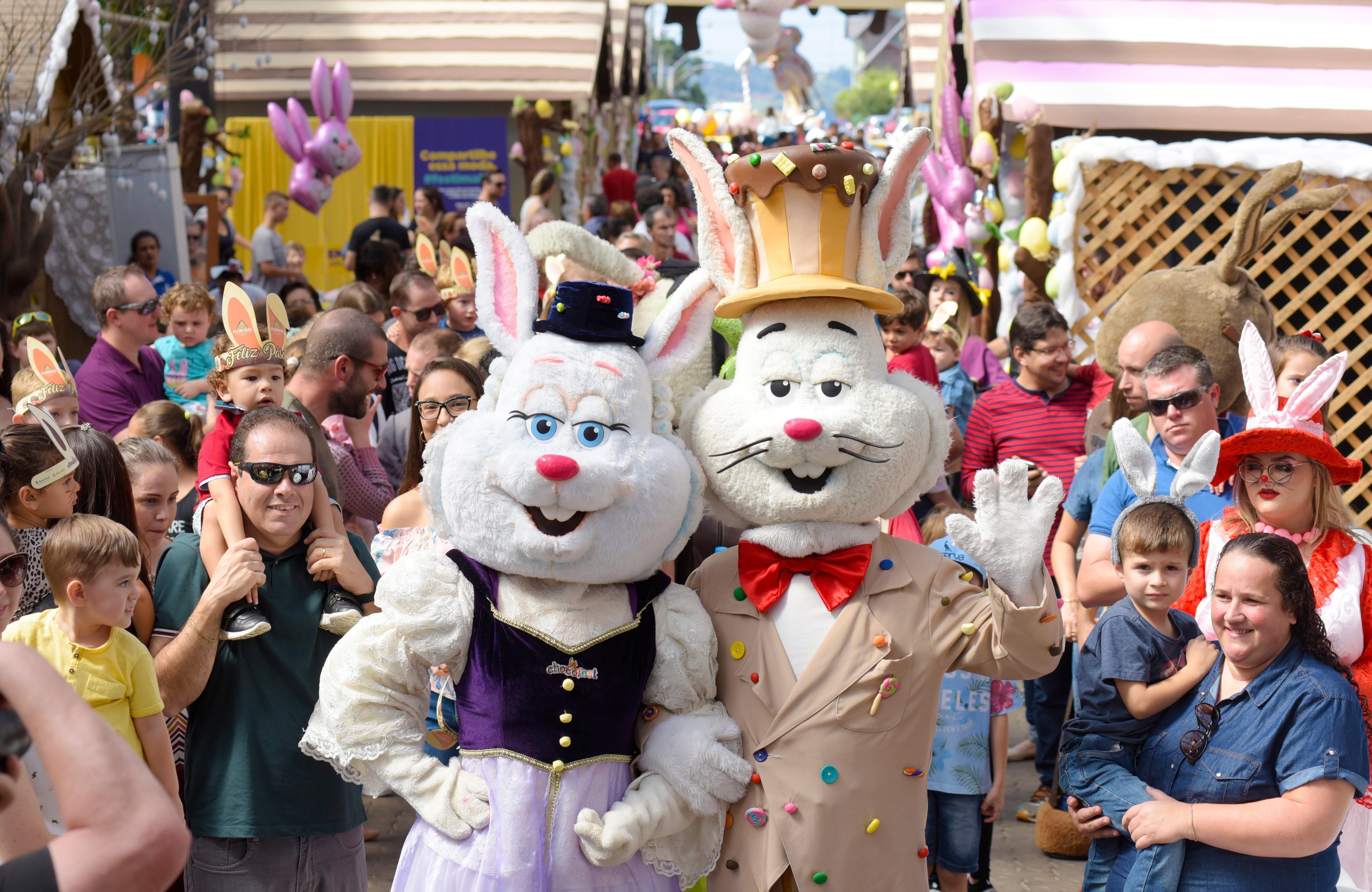 Foto Chocofest na Magia da Páscoa acontece de 02 a 12 de abril em Nova Petrópolis