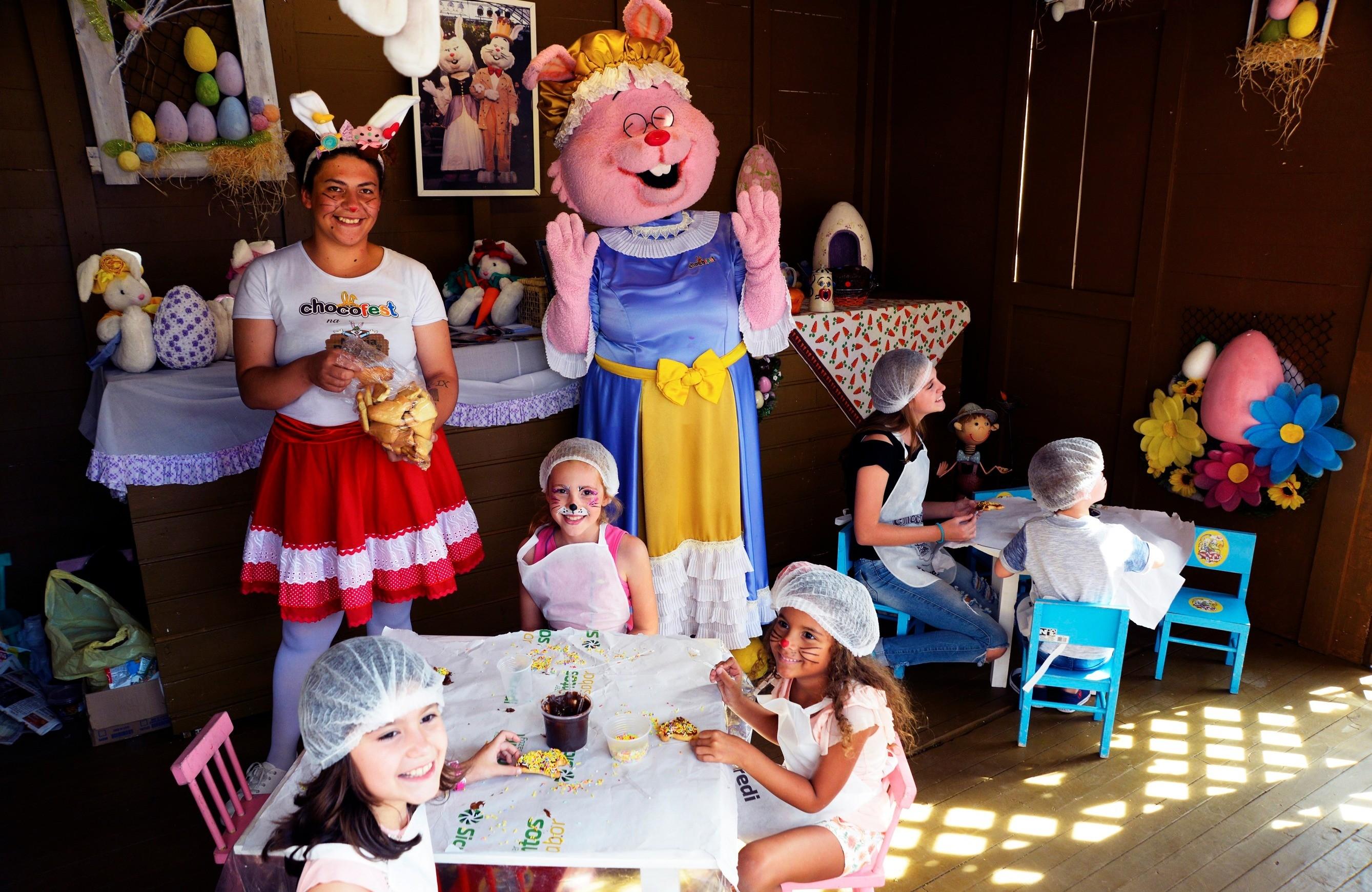 Foto Bauducco levará cenário lúdico para o Chocofest na Magia da Páscoa