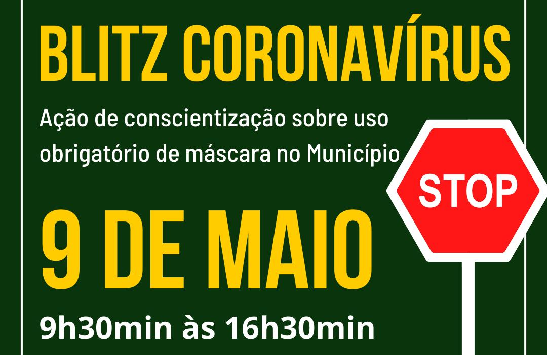 """Foto Nova Petrópolis promove 2ª ação da """"Blitz Coronavírus"""" dia 9 de maio"""
