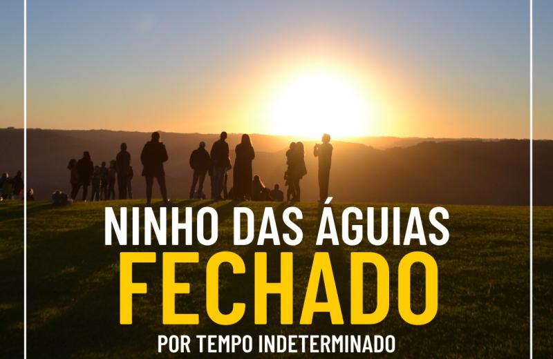 Foto ⚠️ NINHO DAS ÁGUIAS PERMANECE FECHADO ⚠️