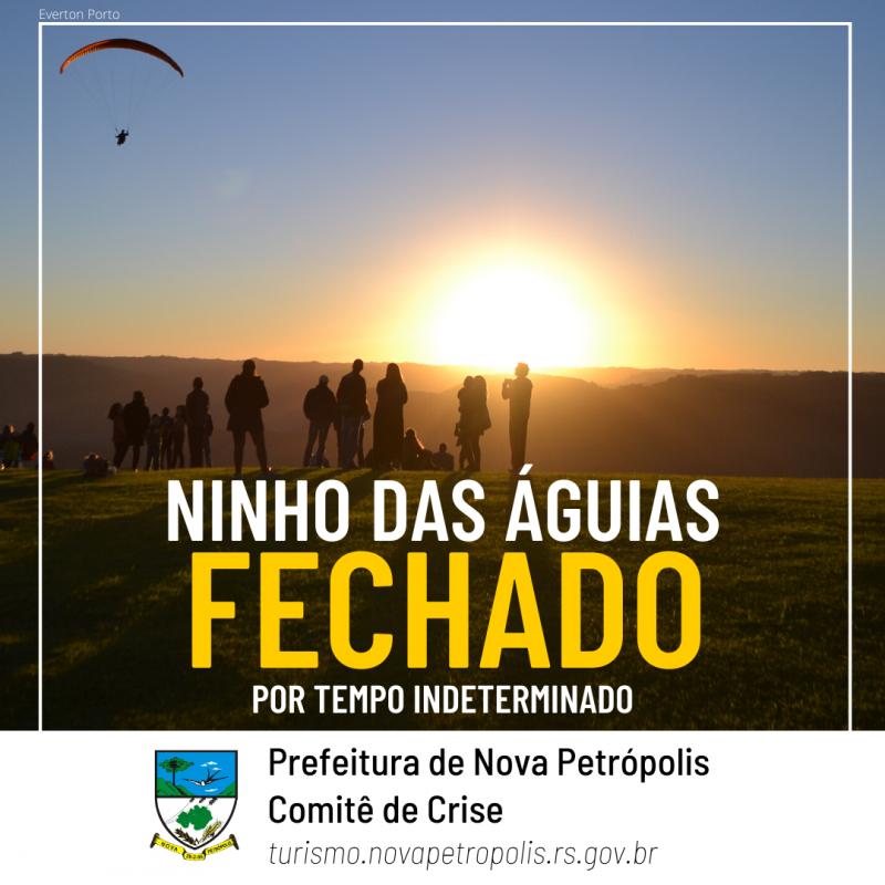 Foto de capa ⚠️ NINHO DAS ÁGUIAS PERMANECE FECHADO ⚠️