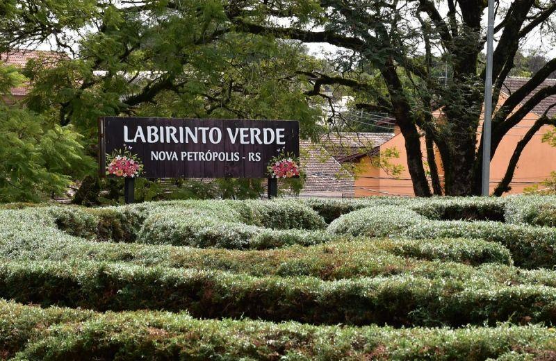 Foto Labirinto Verde de Nova Petrópolis receberá calçamento na parte interna