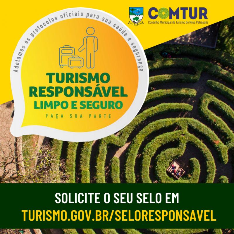"""Foto de capa Secretaria de Turismo, Indústria e Comércio e COMTUR incentivam estabelecimentos a adotar selo """"Turismo Responsável"""""""