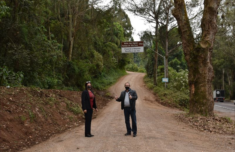 Foto Administração Municipal lança licitação para pavimentação do último trecho da Avenida Ninho das Águias