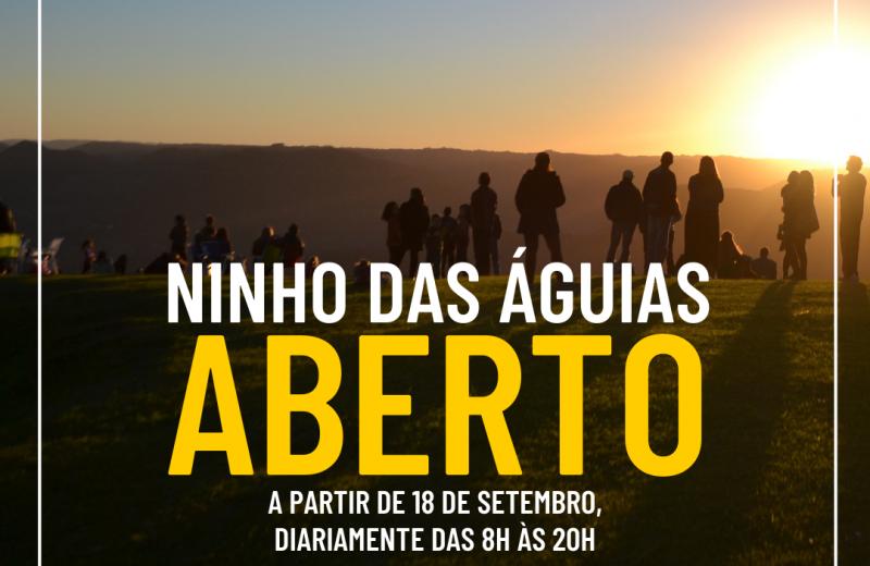 Foto Nova Petrópolis reabre os atrativos Ninho das Águias e Moinho Rasche