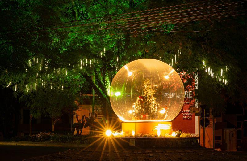 Foto Nova Petrópolis apresenta a magia dos Globos de Neve no Natal no Jardim da Serra Gaúcha 2020