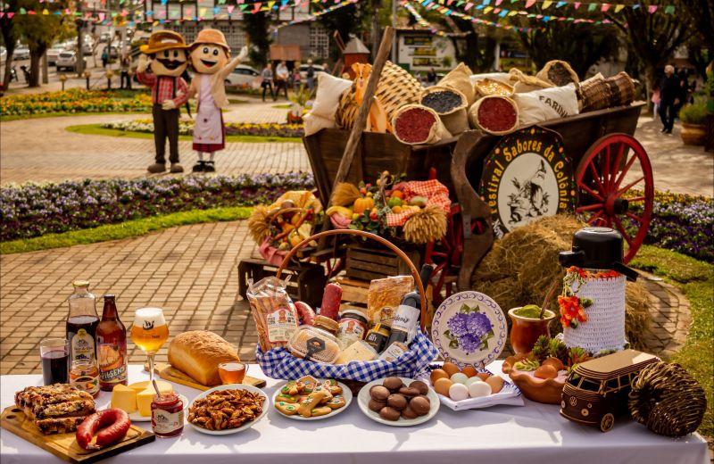 Foto Festival Sabores da Colônia evidencia a produção rural e artesanal de Nova Petrópolis