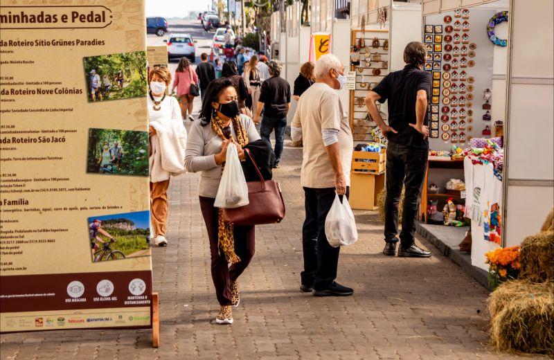 Foto Festival Sabores da Colônia de Nova Petrópolis totaliza R$ 200 mil em vendas na feira da Rua Coberta