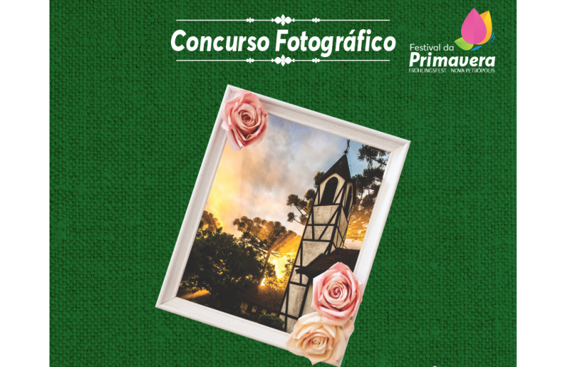 Foto Concurso Fotográfico do Festival da Primavera abre votação popular e no Instagram para 20 fotos selecionadas