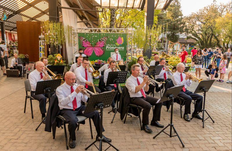 Foto Banda Municipal de Nova Petrópolis realiza a primeira apresentação no ano de seu cinquentenário