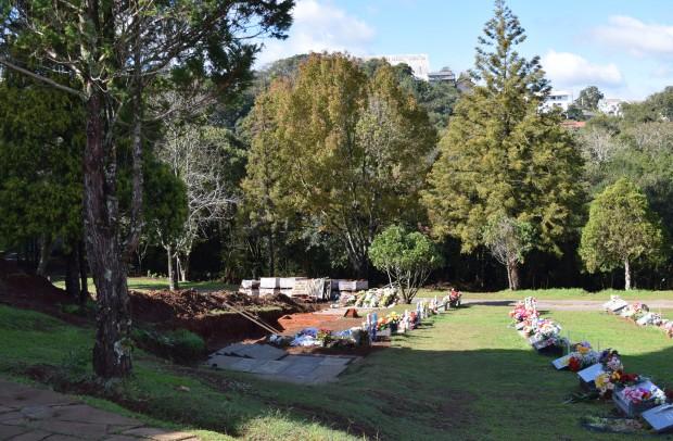 Cemitério Parque Vale da Esperança - Crédito das fotos: Jordana Kiekow | Comunicação PMNP