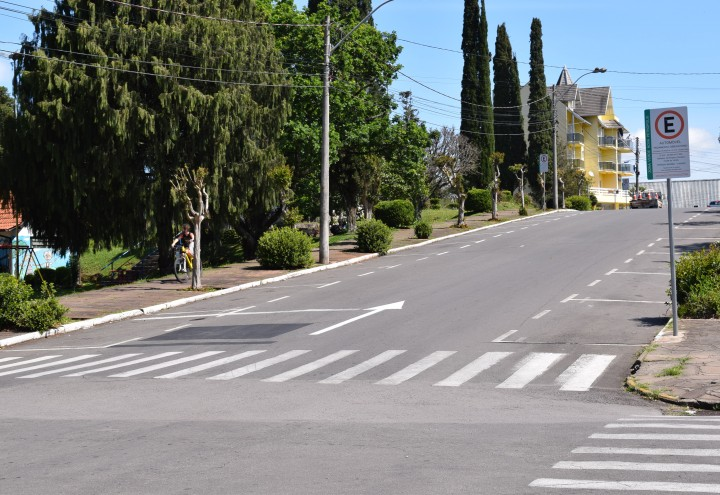 Rua Dom Pedro II terá sentido único. CRÉDITO DA FOTO: Jordana Kiekow | Comunicação PMNP